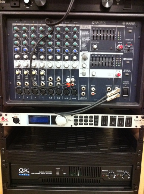 KCW Audio Video Rack